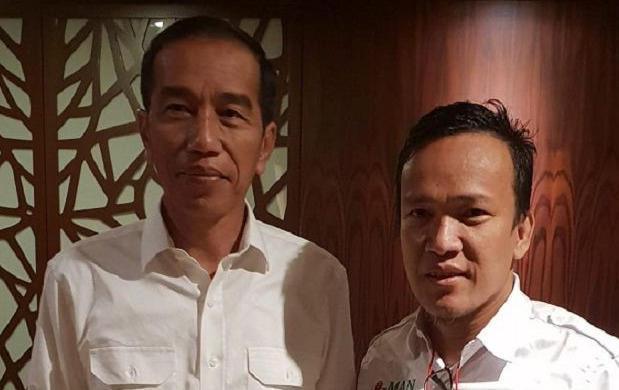 Ketua Jokowi Mania Emmanuel Ebenezer