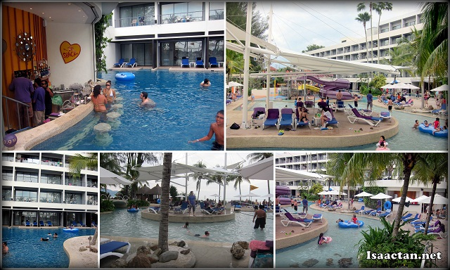Swimming Pool at Hard Rock Hotel Penang