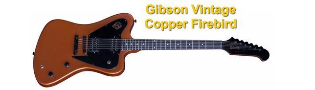 Guitarra Eléctrica Gibson Vintage Copper Firebird