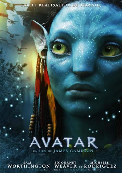 Poster of Avatar 2009 Dual Audio 1080p Hindi Full Movie BluRay With ESubs Download
