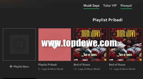Cara membuat playlist di JOOX