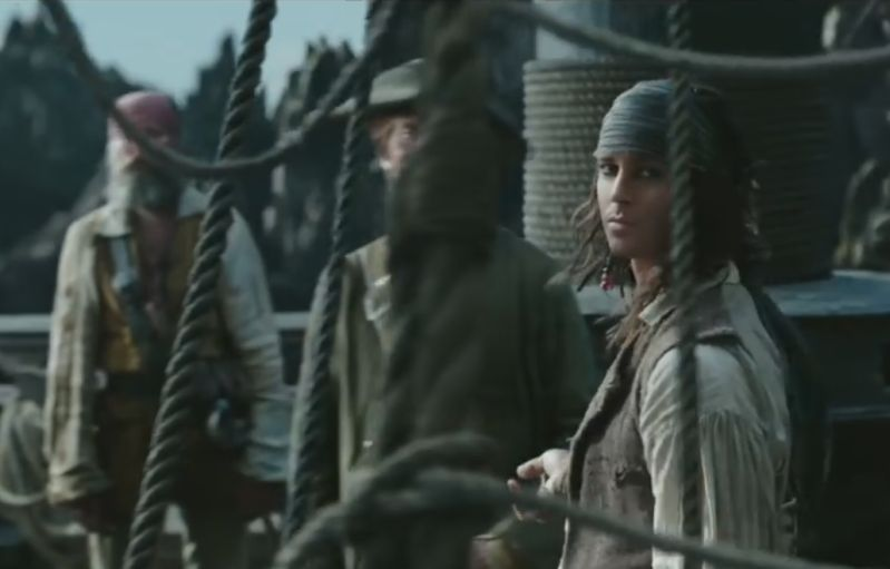 Jack Sparrow - voller Einsatz