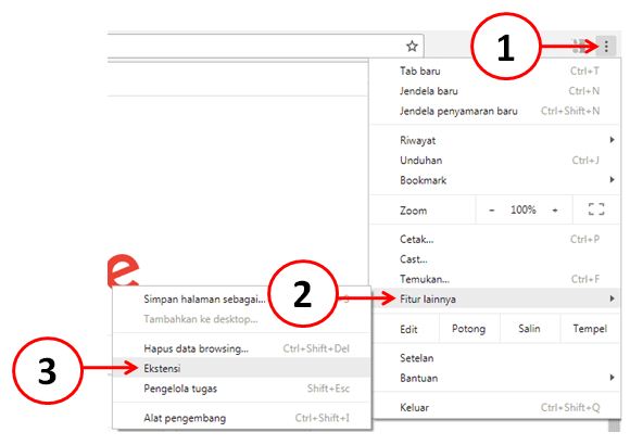 pemeriksaan Ekstensi Google Analytics Opt-out