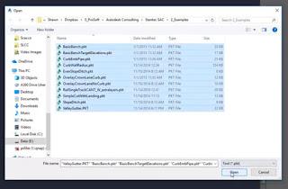 Autodesk Civil 3D Import Subassemblies Source file