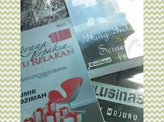Pre-loved novel yang berjaya di beli dari blog KasihkuAmani