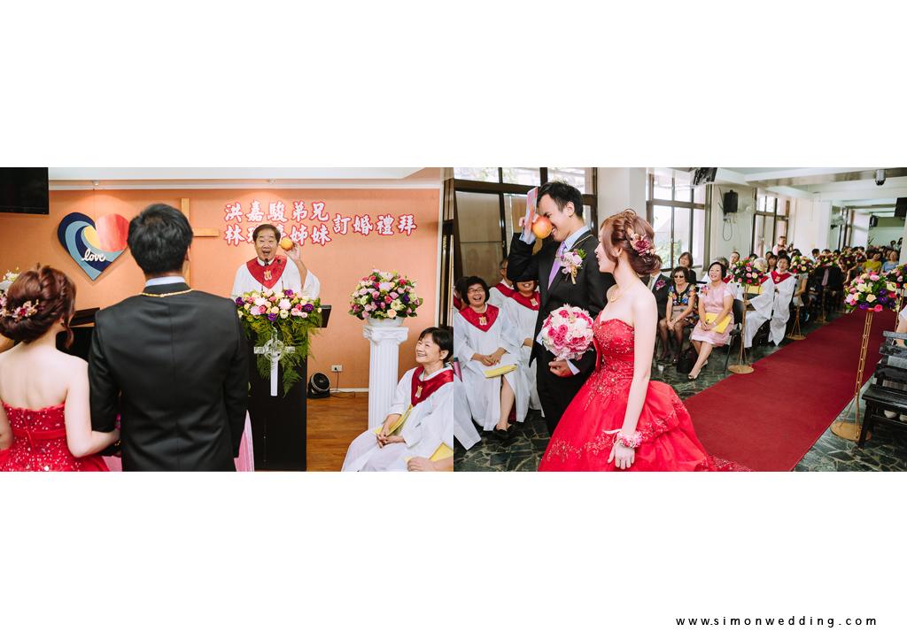 教會婚禮 婚攝