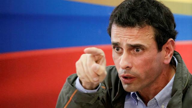 Capriles aboga por una solución política pactada y electoral