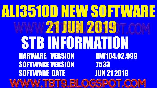 ALI3510D HARDWARE104.02.999 POWERVU TEN SPORTS OK NEW SOFTWARE