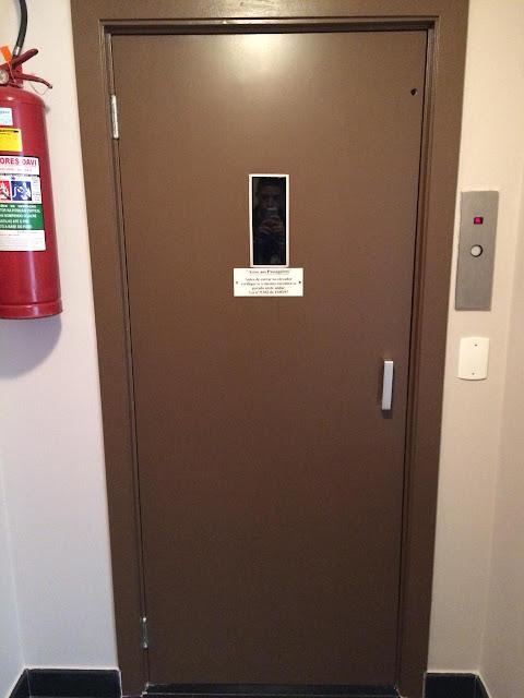 Pintura de Porta de elevador