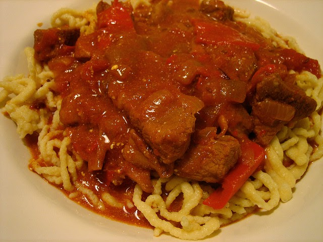 Street food cuisine du monde recette de kassler en for Cuisine hongroise