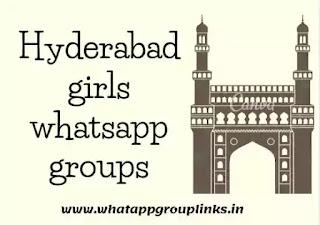 Hyderabad girls whatsapp group links