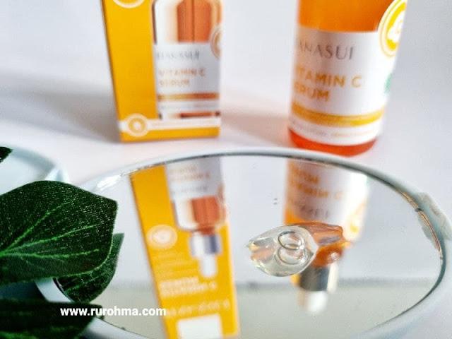 Tekstur Hanasui Vitamin C Serum