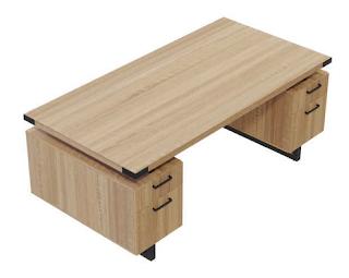 Mirella Pedestal Desk