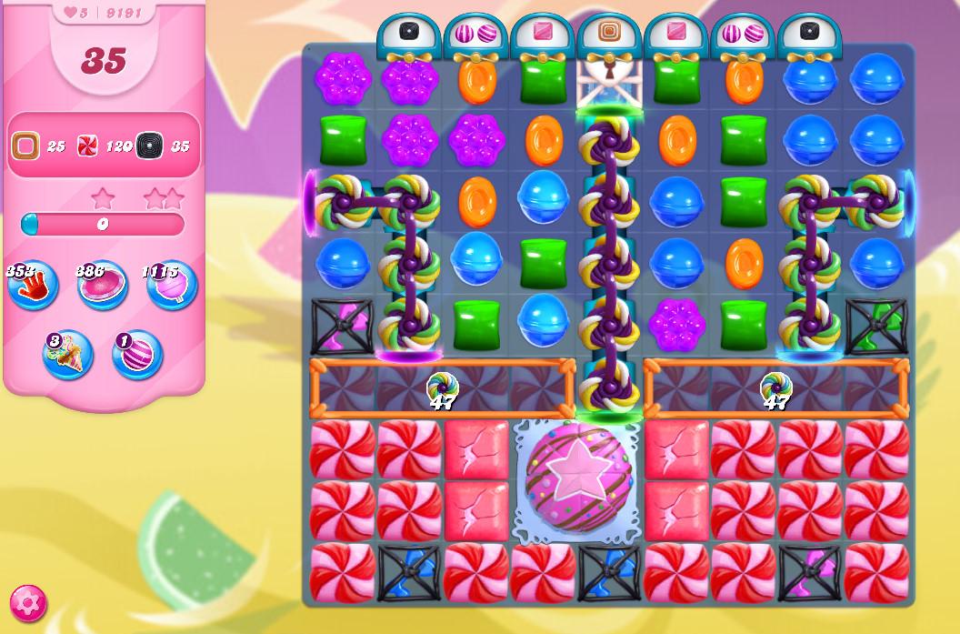 Candy Crush Saga level 9191