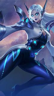 Eudora Lightning Sorceress Heroes Mage of Skins Rework V1