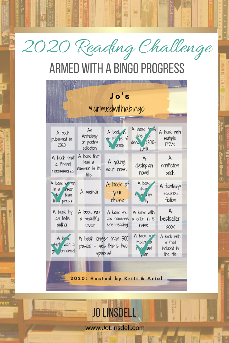 2020 Challenges: February Update Armed With A Bingo
