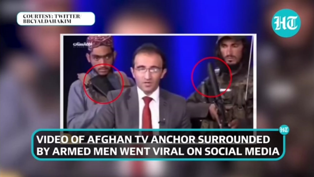 authoritarian theory of the press example in Afghanistan in 2021 when Taliban Took over the power