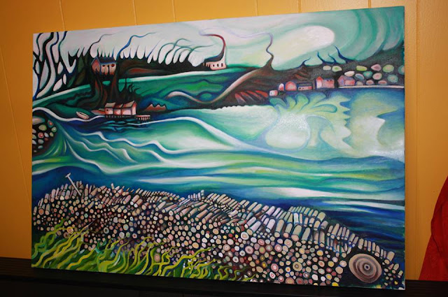 Pacquet Newfoundland Painting