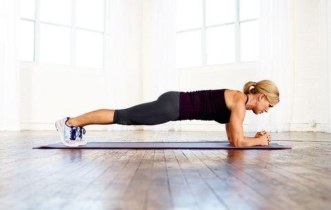 تمرين Plank