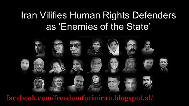 Iran Vilifies Human Rights Defenders as 'Enemies of the State'