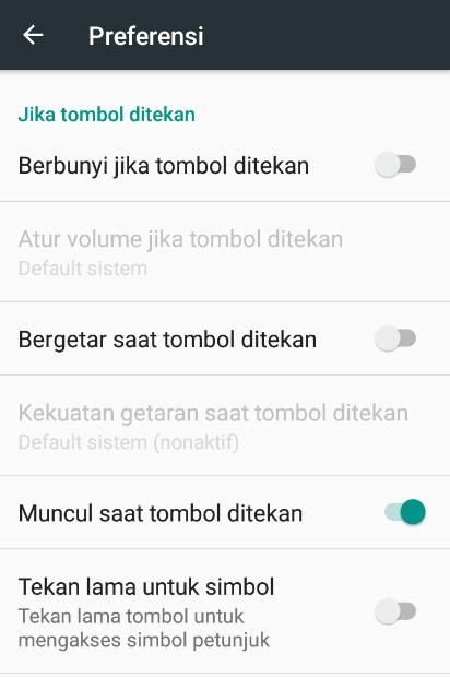 Setting Fungsi Getar Xiaomi