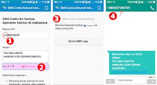 Apk SMS Gratis Seluruh Indonesia