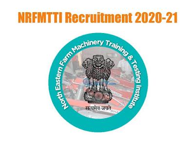 NRFMTTI recruitment 2020