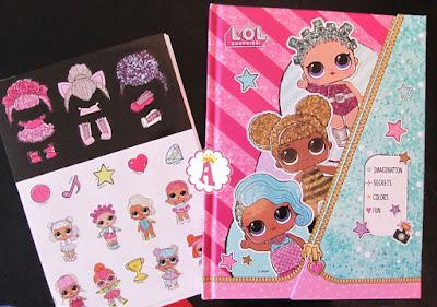 Ежедневник L.O.L. Surprise Мои секреты