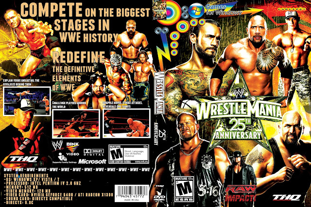 Capa WrestleMania 25th Anniversary PC