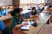 Bupati Suwirta Pimpin Rapat Antisipasi Penanganan Ruang Isolasi Covid-19