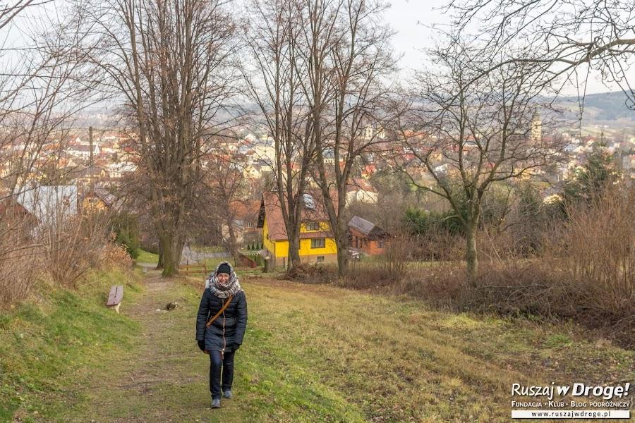 Stary Sącz - Spacer na Górę Parkową