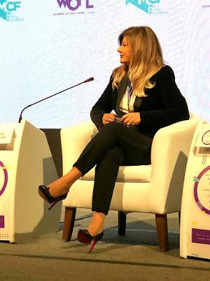 ماتيلدا فرج الله تشارك تجربتها الإعلامية وتدعم المرأة العربية
