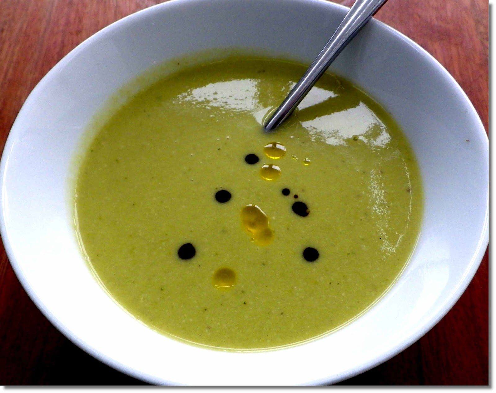 Pea and Apple Soup