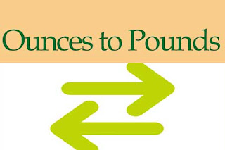 Ounces to Pounds