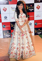 Sonali Kulkarni won the Best Actress Award (Marathi) for the film Kaccha Limbu Walk the Red Carpet of Zee Awards 2017i ~  Exclusive Galleries 037.jpg