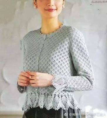 wzory ubrań szydełkiem i na drutach