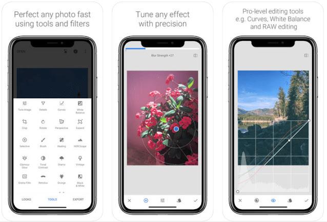 تطبيقات تعديل الصور لاندرويد