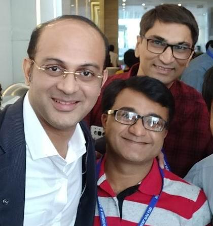 Dr. Bharat Katarmal is with Dr. Ajay Bajaj