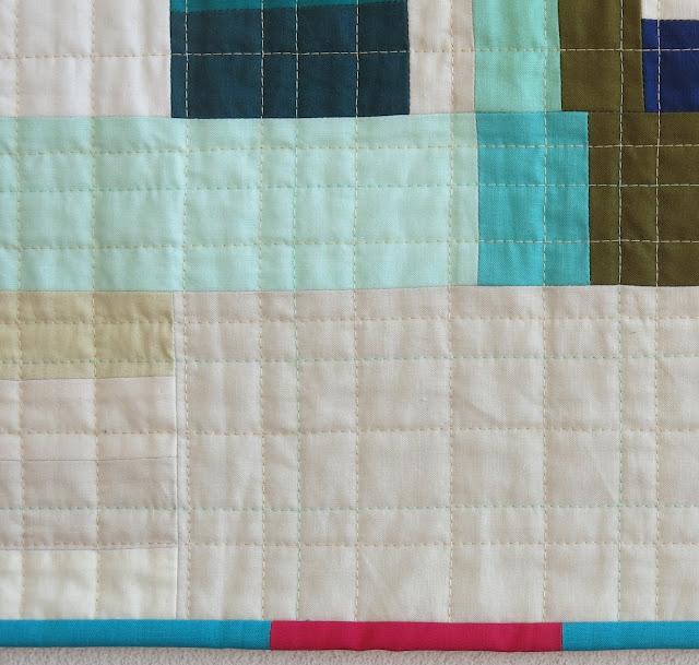 Luna Lovequilts - Déconstruction - A finished quilt - Detail