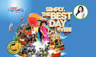 Sunway Lagoon Admission Tickets to All Theme Parks