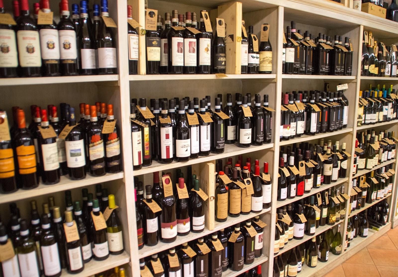 Wine cellar in Rome