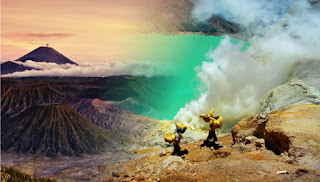 BROMO SUNRISE BY JEEP  AND IJEN CRATER TOURS  START FROM JOGJA