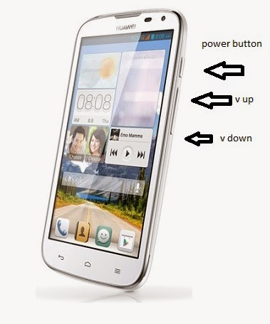 huawei ascend g610 hard reset