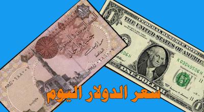 سعر الدولاراليوم الاربعاء 23/8/2017 في مصر