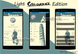 Download BBM Vespa Dark Style Versi 2.10.0.31