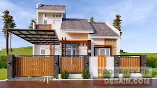 desain rumah type 36 ++ mewah - desain rumah minimalis