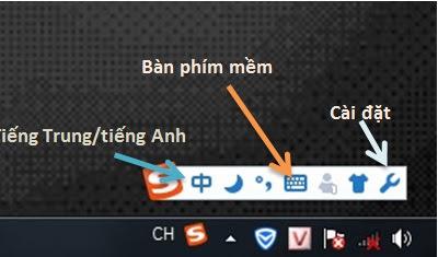 bàn phím tiếng Trung
