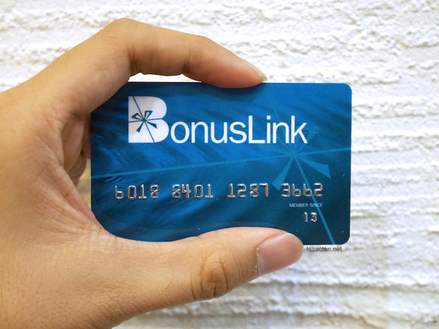 My BonusLink Card