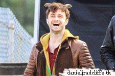 1st & 2nd October: Daniel Radcliffe on set of Horns