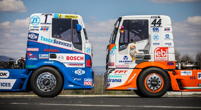 FPT Industrial fatura dois títulos no European Truck Racing Championship 2019